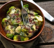Balsamic Roasted Brussel Sprouts