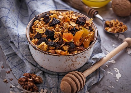 Banana Walnut Granola