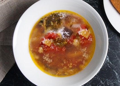 Detox Healing Vegetable Soup