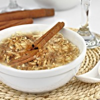 Healthy Brown Rice Pudding