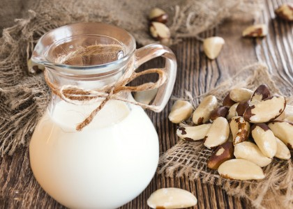 Homemade Brazil Nut Milk