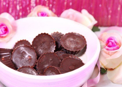 Maca Cashew Chocolate Love Cups