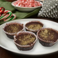Matcha Butter Chocolate Cups