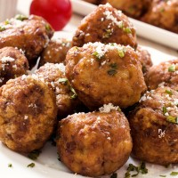 Meatless Walnut Balls