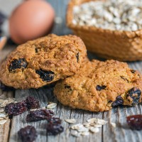 Old Fashioned Oatmeal Cookies