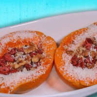 Papaya Coconut Breakfast Treats