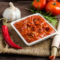 Pecan Red Pepper Sauce