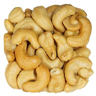 Roasted Cashews Unsalted