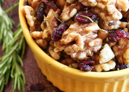Sweet and Savory Walnuts
