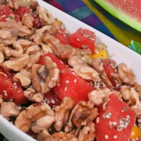 Summer Walnut Fruit Salad