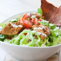 Walnut Taco Salad